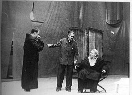 Brecht a Galilei próbája közben