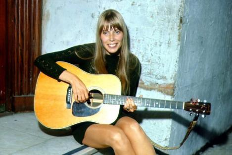 Joni Mitchell earned a  million dollar salary - leaving the net worth at 6 million in 2018